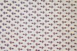 Cream base black small design COTTON PRINTED FABRIC for Multipurpose use PC365