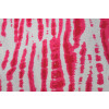 White hot pink COTTON PRINTED FABRIC for Multipurpose use (per meter price) PC367