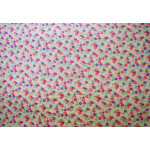 Fawn multicolour COTTON PRINTED FABRIC for Multipurpose use PC373