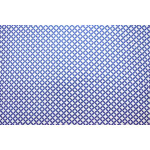 Dark Blue / white COTTON PRINTED FABRIC for Multipurpose use PC378