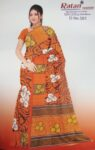 Printed casual Wear Faux georgette Saree for daily wear Sari 3M557