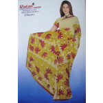 Printed casual Wear Faux georgette Saree for daily wear Sari 8M239