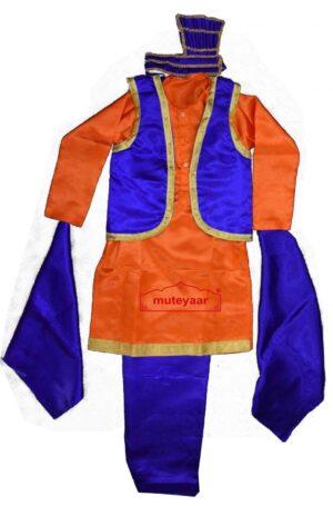Kids Bhangra Costume Outfit Fancy Dress custom made