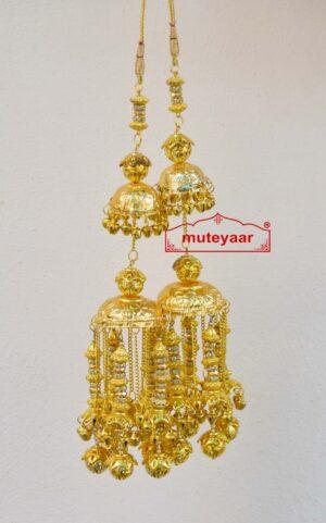 Traditional Punjabi Kaleera  with golden laddoo J0909
