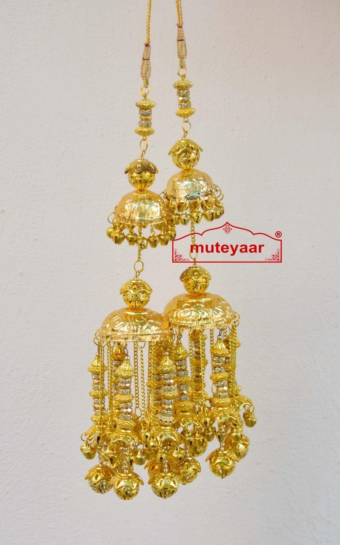 Traditional Punjabi Kaleera  with golden laddoo J0909 1
