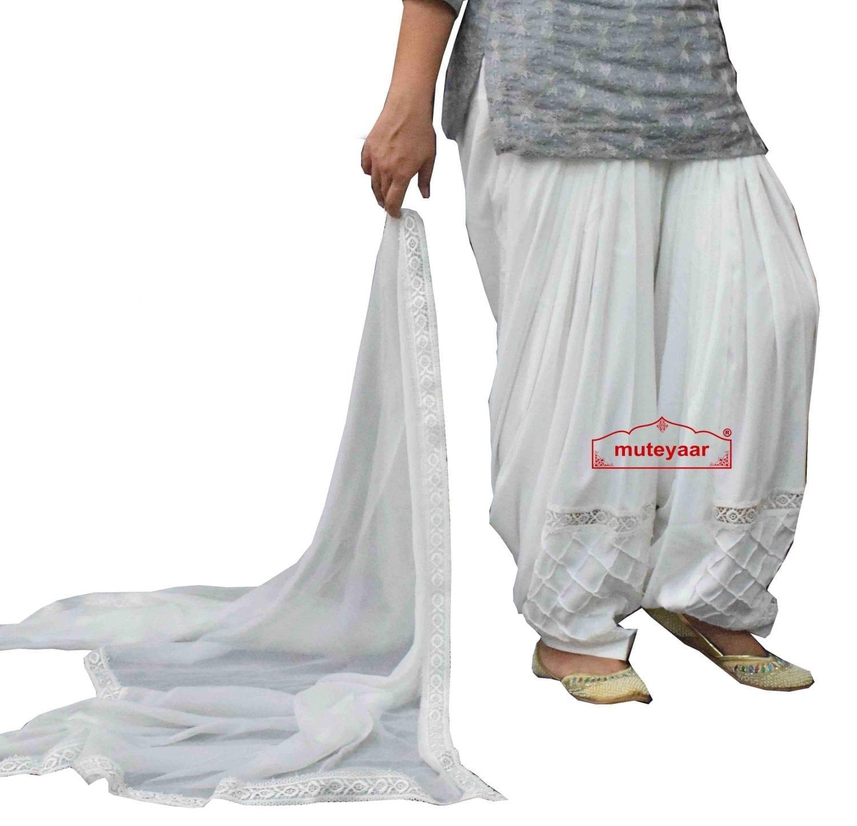 Barfi Pintex Patiala Salwar Dupatta set from Patiala City 1