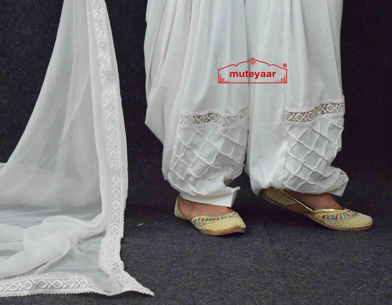 Barfi Pintex Patiala Salwar Dupatta set from Patiala City 3