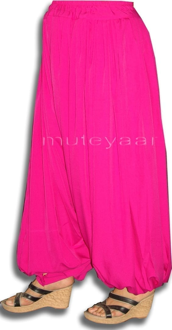 Harem Pants Afghani Shalwar Bohemian Balloon Belly Dance Baggy Bottom 2