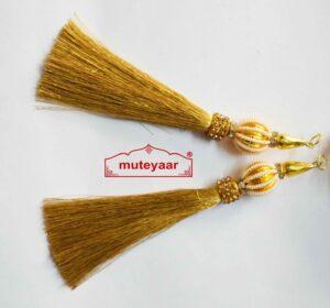 Tassle Latkans pair for lehenga, blouse, saree , dupatta, kurti, curtains LK068