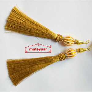 Tassle Latkans pair for lehenga, blouse, saree , dupatta, kurti, curtains LK068
