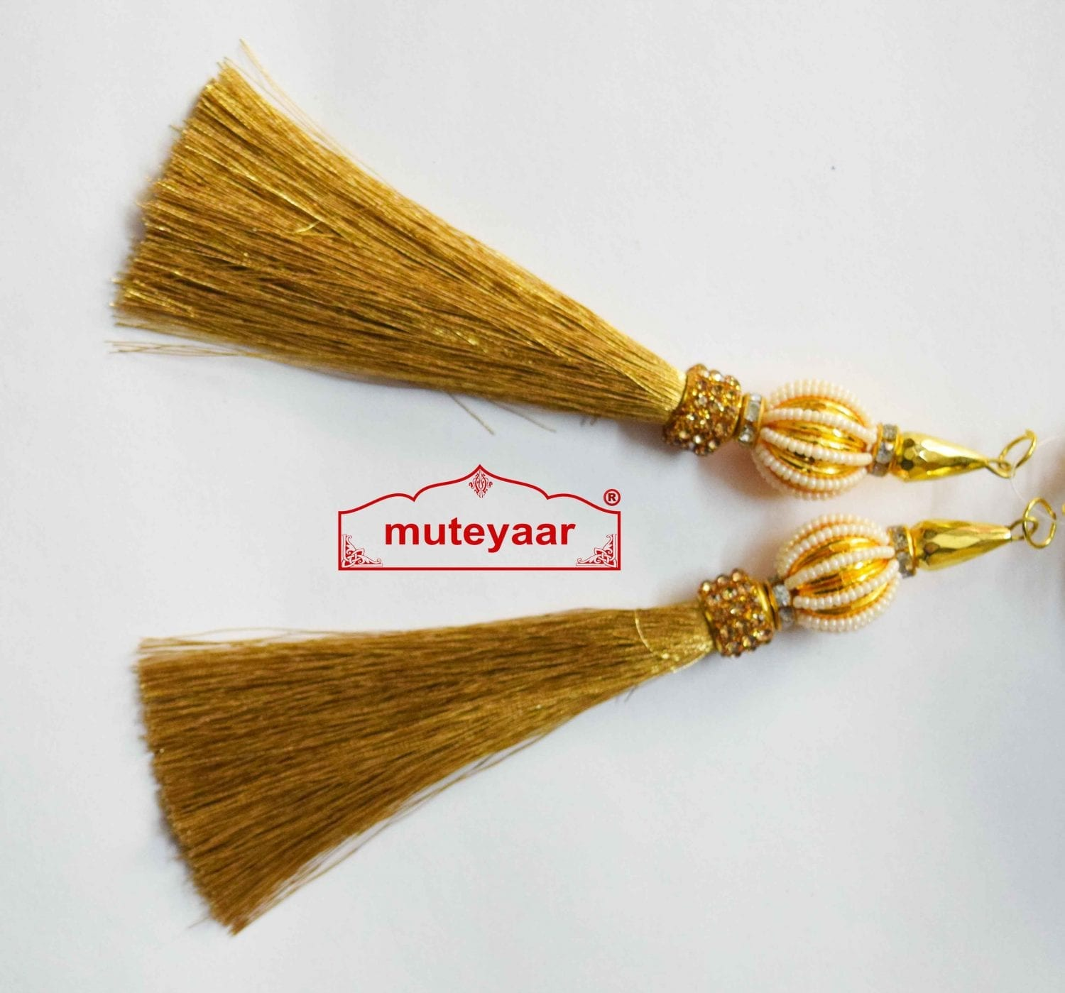 Tassle Latkans pair for lehenga, blouse, saree , dupatta, kurti, curtains LK068 1