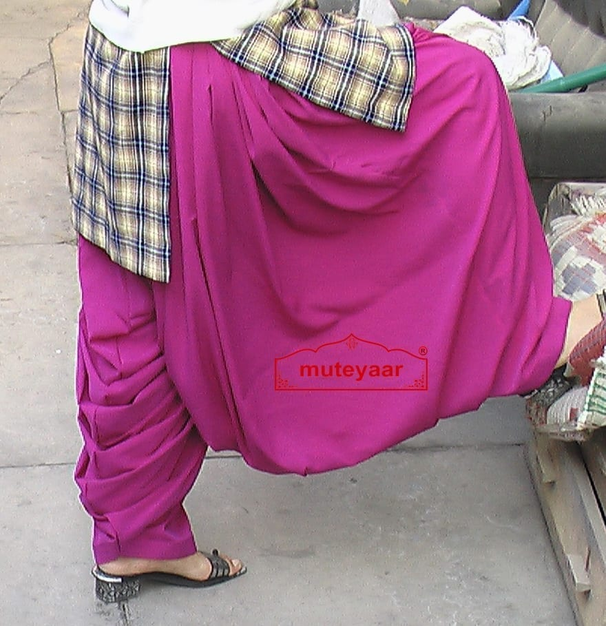 Heavy Patiala Salwar (Rani Patiala Salwar) from Patiala City !! 2