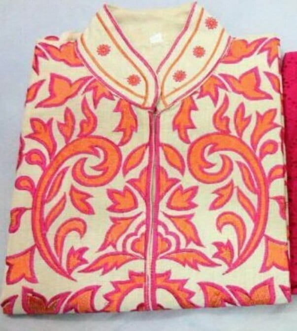 Embroidered Semi Stitched Kurti Wholesale Lot of 10 Pieces 3