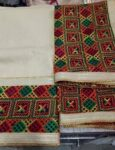 WHOLESALE LOT of 10 JHINCHAK PHULKARI SUITS Salwar Kameez Dupatta Set
