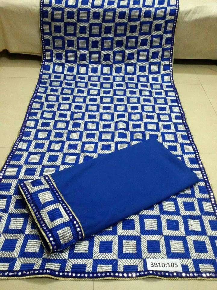 Plain Phulkari Suits Wholesale Lot of 10 Salwar Kameez Dupatta Sets 5