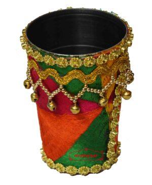 Shagan Glass with Phulkari Work for Punjabi Wedding