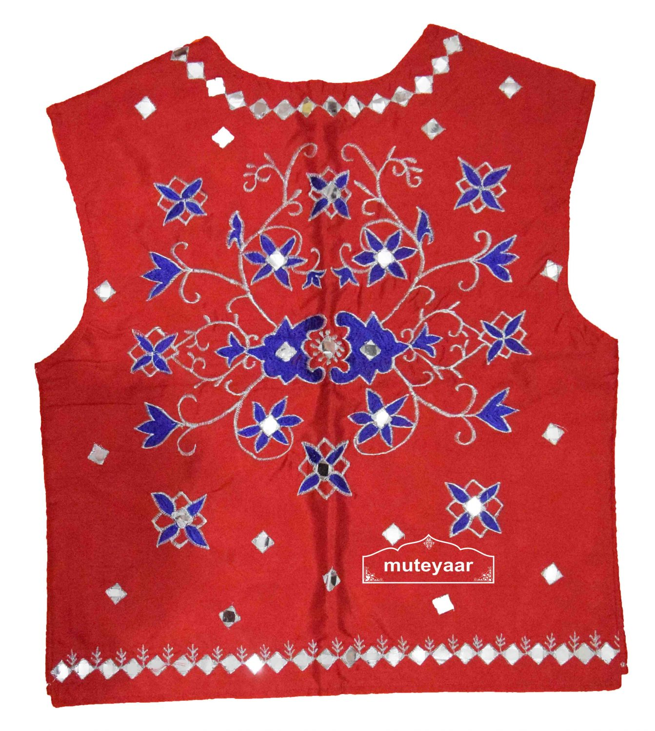 Embroidered Bhangra Costume Outfit Dance Dress for Men 2