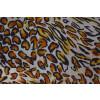 Cheetah Print American Crepe fabric drapy cloth for salwar kurti (per meter price) PAC48
