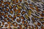 Cheetah Print American Crepe fabric drapy cloth for salwar kurti PAC48