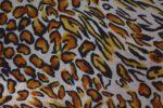 Cheetah Print American Crepe fabric drapy cloth for salwar kurti PAC48