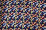 Multicolour Printed American Crepe fabric drapy cloth for salwar kurti PAC50