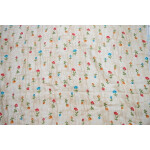 Golden Fawn GLAZED COTTON Printed Fabric for Multipurpose use GC001