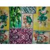 Multicolour Printed Glazed Cotton Fabric for Multipurpose use (per meter price) GC010