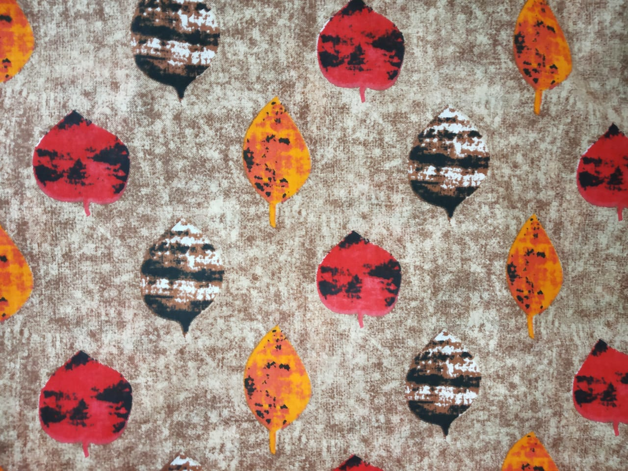 Multicolour print on Grey Base Printed Cotton Fabric for bottom / Kurti PC401 1