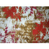 Red brown Marble Print Cotton Fabric for bottom / Kurti (per meter price) PC402