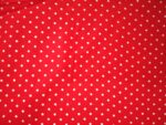 Redbase white polka dots print Pure cotton for bottom / Kurti PC407