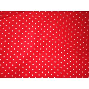 Redbase white polka dots print Pure cotton for bottom / Kurti PC407
