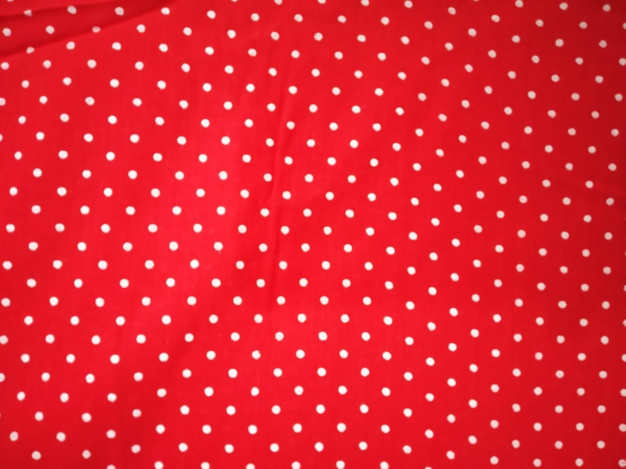 Redbase white polka dots print Pure cotton for bottom / Kurti PC407 1
