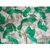 Green Leaves allover print Pure cotton for bottom / Kurti (per meter price) PC414
