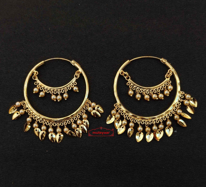 Punjabi ethnic style bali earrings J0441 1