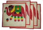 Set of 5 hand embroidered patch work cushion covers CC004