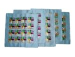 Set of 5 hand embroidered PHULKARI cushion covers CC007