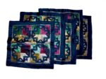 Set of 5 hand embroidered PHULKARI cushion covers CC009