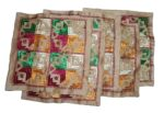 Set of 5 hand embroidered PHULKARI cushion covers CC016