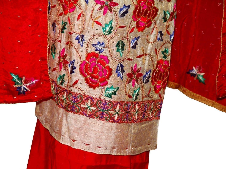 Tissue Cotton/Makhmali Suit pure chinon dupatta JAAL EMBR. H0069 2