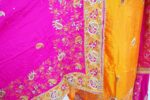 Hand Embroidered Pure Silk Punjabi Bridal Salwar Kameez Suit H0195