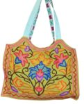 Kashmiri Hand made embroidered Office / College / Shopping Bag HB114