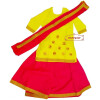 Magenta Yellow custom made GIDDHA  Costume outfit dance dress