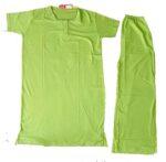 Pure Cotton Soft Hosiery Fabric Ladies Night Wear  Night Suit NS055