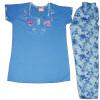 Pure Cotton Soft Hosiery Fabric Ladies Night Wear Night Suit NS067
