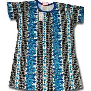 Pure Cotton Soft Hosiery Fabric Night Wear Kurti TOP NS070