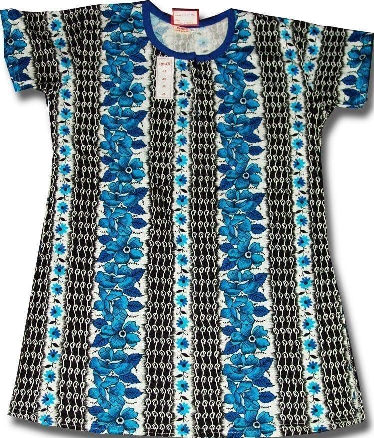 Pure Cotton Soft Hosiery Fabric Night Wear Kurti TOP NS070 1