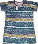 Pure Cotton Soft Hosiery Fabric Night Wear Kurti TOP NS071
