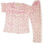 Pure Cotton Soft Hosiery Fabric Ladies Night Wear Night Suit NS082