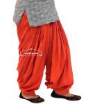 Rust Cotton Patiala Salwar from Patiala City !!