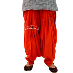 Rust Cotton Patiala Salwar from Patiala City !!